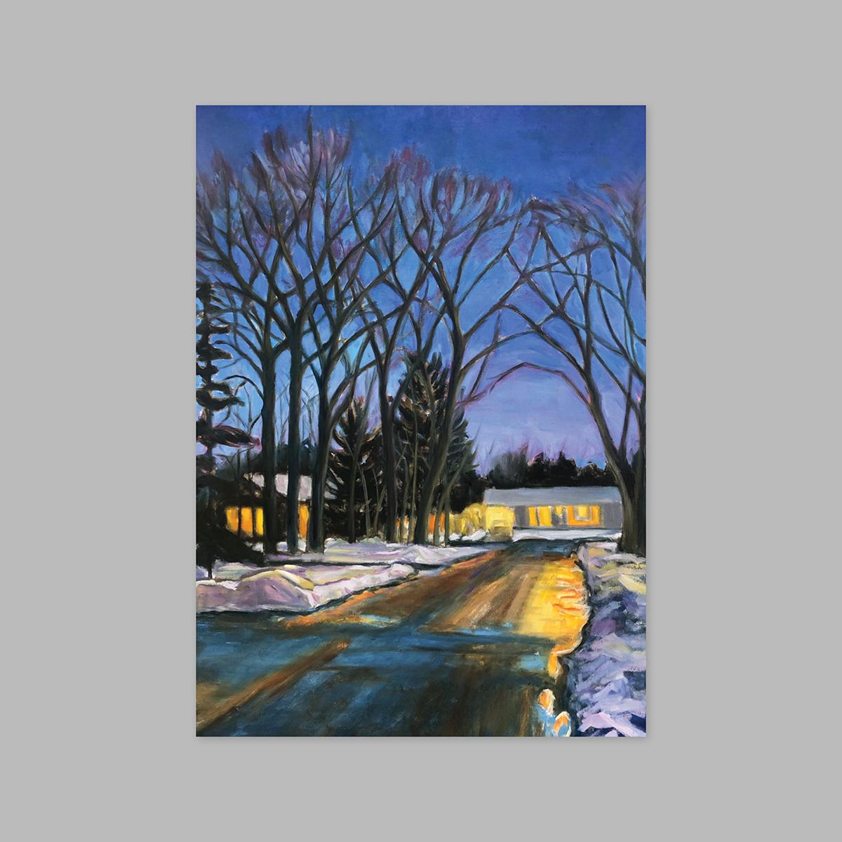 Night Walk by Ingrid Connidis