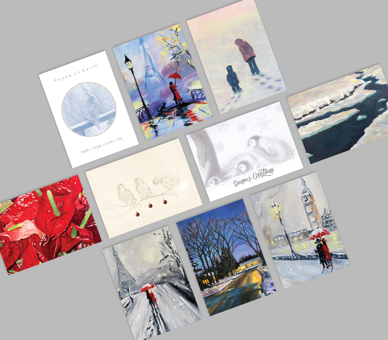 2021 Holiday Greeting Card Collection